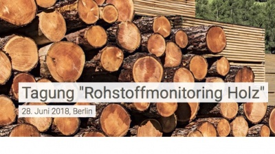 Terminhinweis: Tagung Rohstoffmonitoring Holz 28.6.2018 in Berlin<br><span style='float:right; font-size:11px;font-weight:normal;'>© FNR</span>
